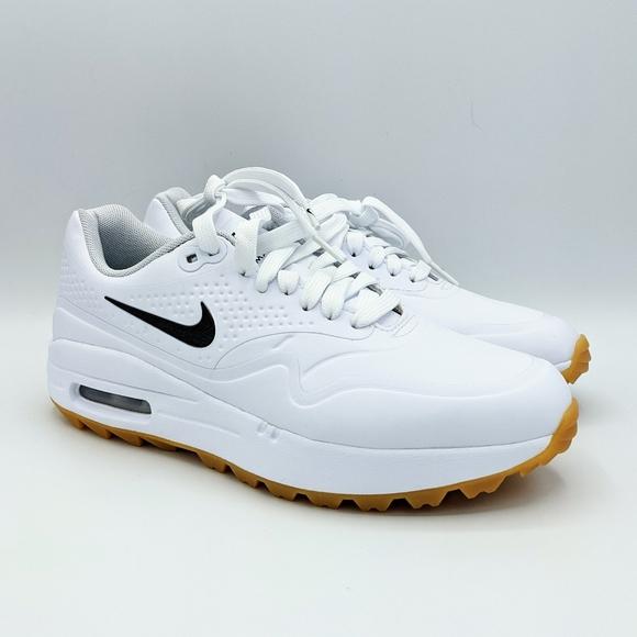 Nike Shoes Air Max 1 G Womens Golf Shoe Whiteblackgum Poshmark